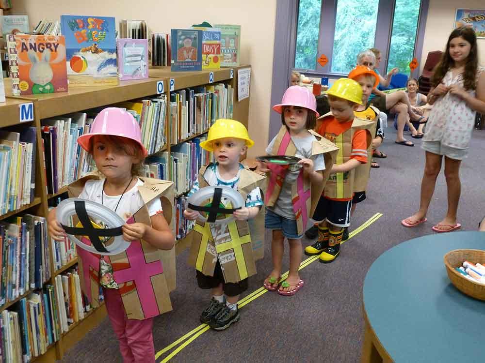 Preschool Summer Story Hour 2013